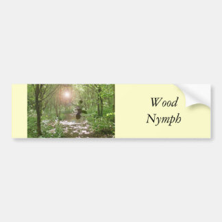 Wood Nymph Bumper Stickers
