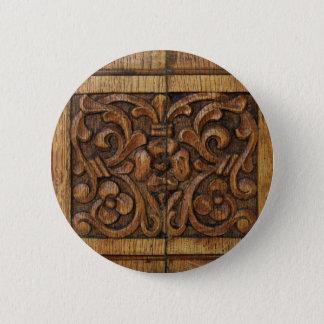 wood panel 2 inch round button