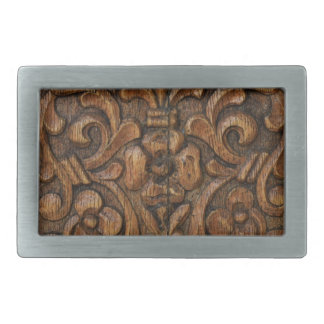 wood panel belt buckle