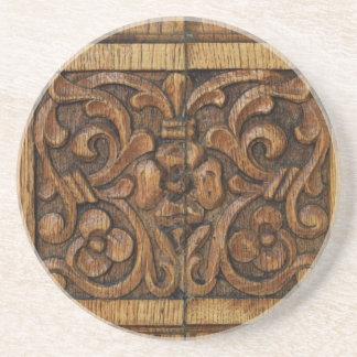 wood panel coaster