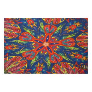 Wood Panel Decorative Print Wood Canvases