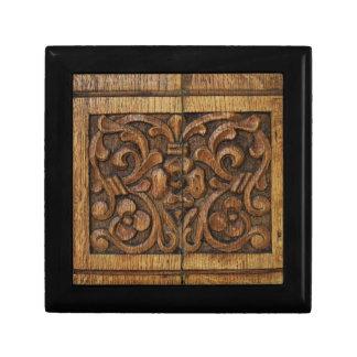 wood panel gift box