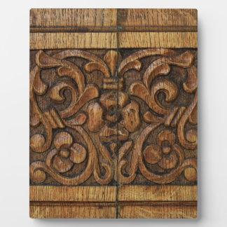 wood panel plaque