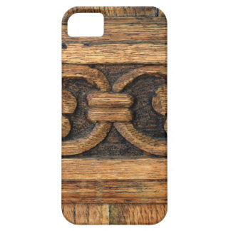 wood panel sculpture iPhone 5 cover