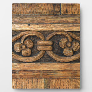 wood panel sculpture plaque