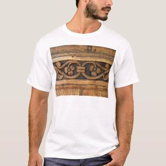 wood panel sculpture T-Shirt