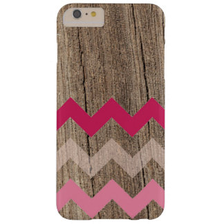 Wood pastel chevron zigzag zig zag chic pattern barely there iPhone 6 plus case