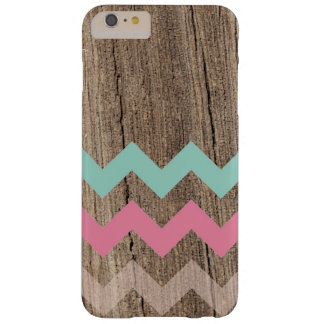 Wood pastel chevron zigzag zig zag chic pattern mi barely there iPhone 6 plus case