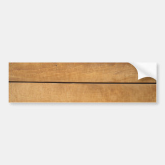 Wood pattern design 2 bumper sticker