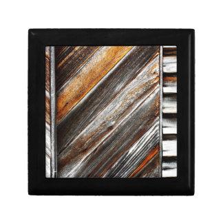 Wood Pattern Gift Box