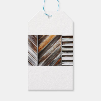 Wood Pattern Pack Of Gift Tags