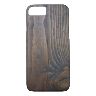 Wood pattern phone case
