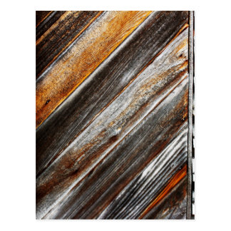 Wood Pattern Postcard