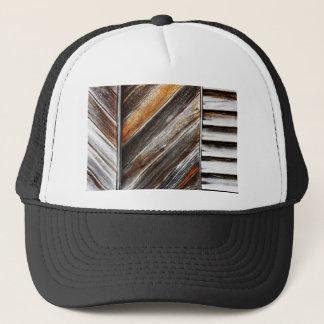 Wood Pattern Trucker Hat
