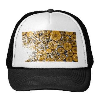 Wood Pile Grunge Trucker Hat