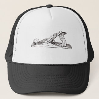 Wood Plane Trucker Hat