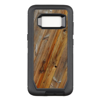 Wood Plank Diagonal OtterBox Defender Samsung Galaxy S8 Case