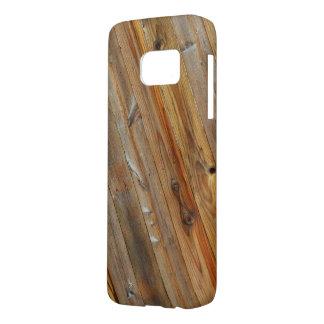 Wood Plank Diagonal Samsung Galaxy S7 Case