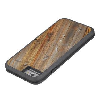 Wood Plank Diagonal Tough Xtreme iPhone 6 Case