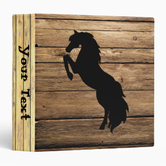 Wood Planks and Horse Binders