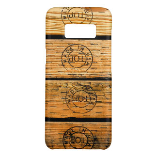 """Wood Planks Stamped with """"Made in USA"""" Case-Mate Samsung Galaxy S8 Case"""