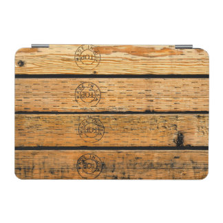 "Wood Planks Stamped with ""Made in USA"" iPad Mini Cover"