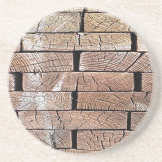 wood, retro, trees coaster