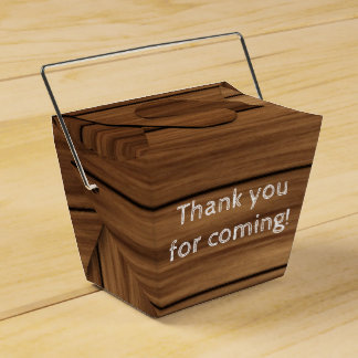 Wood rustic farm country boy or girl favor boxes