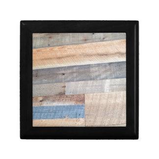 Wood rustic gift box