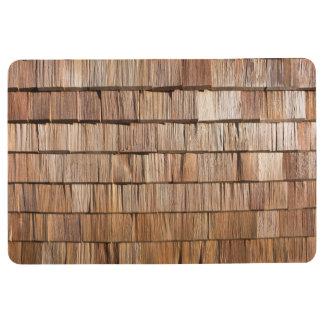 Wood Shingle Floor Mat
