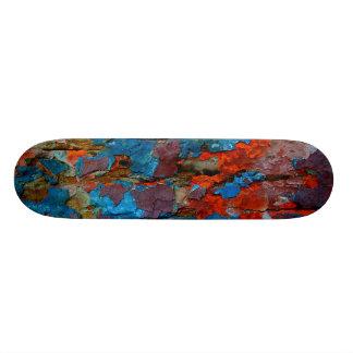 Wood skateboard. skateboard deck