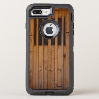 Wood Slats Beach Door Costa Brava Spain OtterBox Defender iPhone 8 Plus/7 Plus Case