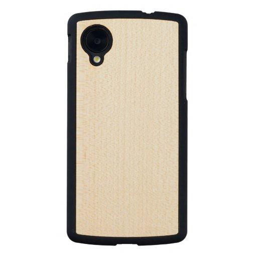 Wood Slim Google Nexus 5 Case Carved® Maple Nexus 5 Case