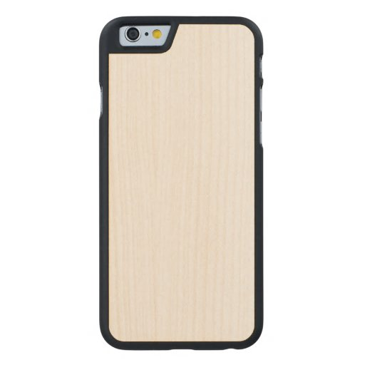 Wood Slim iPhone 6 Case Carved® Maple iPhone 6 Case