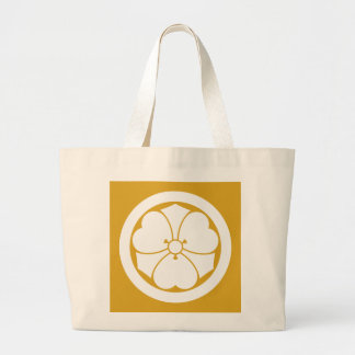 Wood sorrel with swords in circle(1) large tote bag