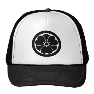Wood sorrel with swords in circle 1 trucker hat