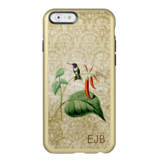 Wood Star Hummingbird Damask Incipio Feather® Shine iPhone 6 Case