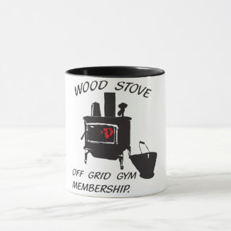Wood stove mug