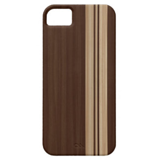 Wood Stripes iPhone 5 Case - Surfboard Style
