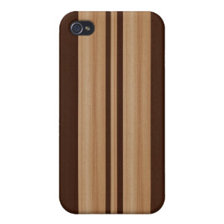 Wood Surfboard  iPhone 4/4S Speck Case - Faux Wood