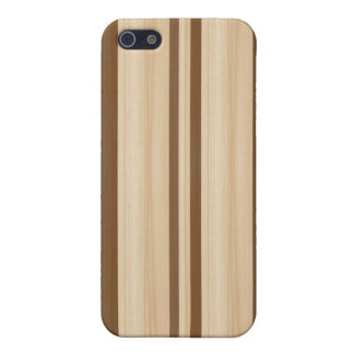 Wood Surfboard  iPhone 4/4S Speck Case - Faux Wood iPhone 5 Cases