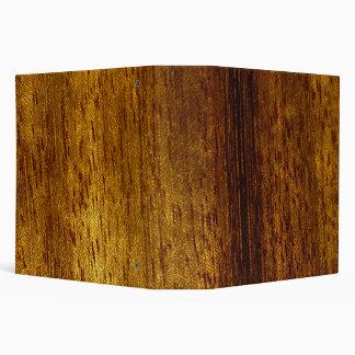 Wood teak Avery Binder