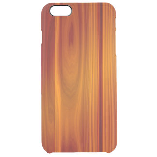 Wood Teak iPhone 6/6S Plus Clear Case
