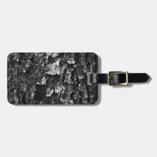 Wood texture bag tag