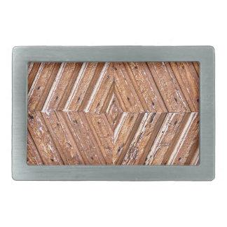 Wood Texture Belt Buckle