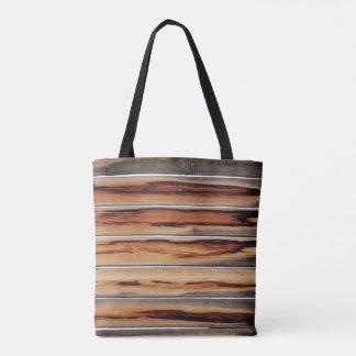 Wood Texture Cool Unique Tote Bag