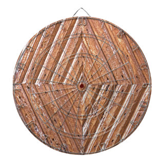 Wood Texture Dartboard