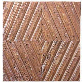Wood Texture Napkin