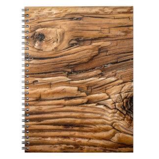 Wood Texture Notebook