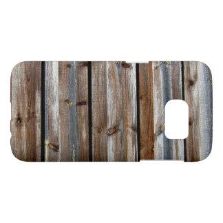 Wood Texture Photo Cool Unique Samsung Galaxy S7 Case